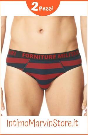 Slip Uomo Forniture Militari Fantasia U063BN Cotone Elasticizzato
