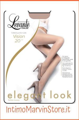 Collant Donna Levante Vision 20 Den Punta Nuda