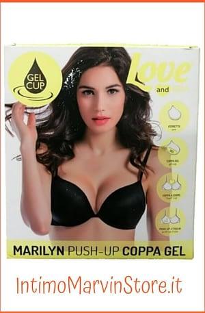 Reggiseno Love and Bra Marilyn Push Up, Coppa Gel