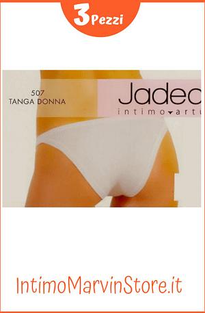 Slip Donna Jadea 507 Tanga Cotone Modal 3 Pezzi