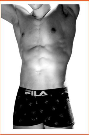 Boxer Uomo Fila con Elastico Esterno Logato 5114