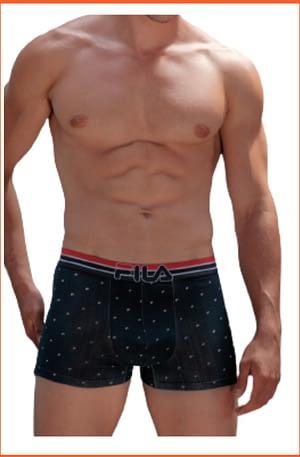 Boxer Uomo Fila con Elastico Esterno Logato 5081