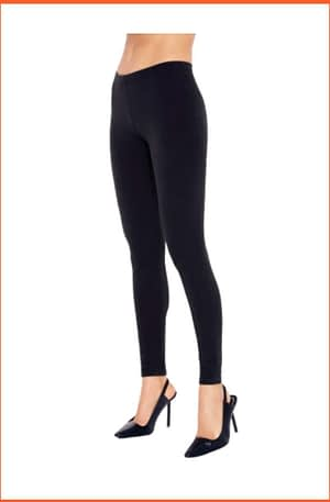 Leggings Donna RossoPorpora Cotone Elast ED102/OVER